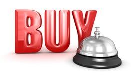 Entretenez la cloche et l'achetez Photographie stock libre de droits