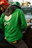 Entretenez le vélo de grippage en Sai Gon, Vietnam Image stock