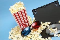 entretenimento do filme 3D Imagens de Stock