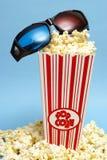 entretenimento do filme 3D Imagens de Stock Royalty Free