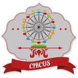 Entretenimiento del circo Imagenes de archivo