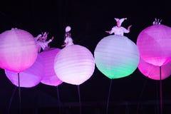 Entretenimiento inusual de la noche Imagen de archivo libre de regalías