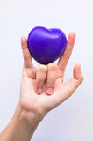 Entretenir votre coeur Image libre de droits