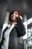 Entretien amical d'affaires Photo libre de droits