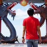 Entretien aux dragons Photographie stock libre de droits