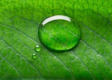 Entretien de bulle de l'eau Photo stock