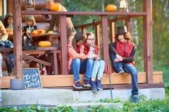 Entretien de Halloween Image stock