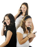 Entretien de l'adolescence Photo libre de droits