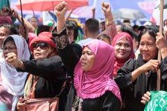 Entretien de paix musulman Photos libres de droits