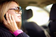 Entretien de téléphone images libres de droits