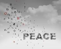 Entretiens de paix Image libre de droits