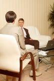 Entrevue Photo stock