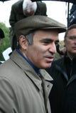 Entrevue de Garry Kasparov de politicien après photos stock