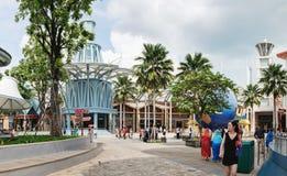 Entrez des studios universels sur Sentosa, Singapour Photo stock