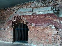 Entri nei tonnels della fortezza di Brest - il 'и del  Ñ del ¾ Ñ del ¿ Ð del ¹ крÐ?Ð del ¾ Ð del  кРdel 'Ñ del  Ñ del ` Ñ Immagine Stock
