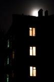 Entro la notte Fotografia Stock