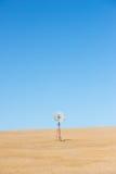 Entroterra Australia del mulino a vento Immagini Stock