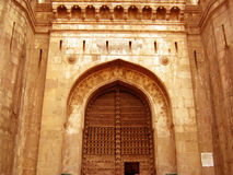 Entry. A beautiful entrance of an Indian fort Royalty Free Stock Photography