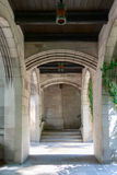 Entry Arch in Church Stock Image