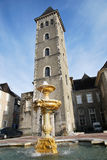 The entry of the Castel of Pau in France Stock Images
