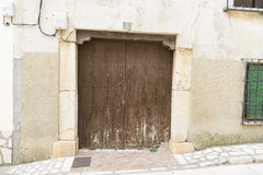 Entry, Chinchon, Spanish municipality famous for its old medieva Royalty Free Stock Photos