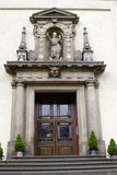 Entry in the church hl. Mary o Victorious - Prague Royalty Free Stock Images