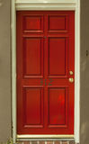 Entry door red Royalty Free Stock Image