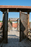 Entry in Dubno fortress Stock Photo
