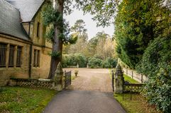 Entry into the family estate Royalty Free Stock Photography