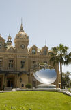 Entry famous cafe  architecture Monte Carlo Stock Photo