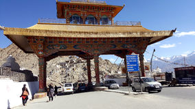 Entry gate of Leh city Royalty Free Stock Photography