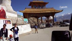 Entry gate of Leh city Royalty Free Stock Photos