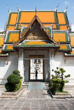 Entry gate of temple Wat Suthat, Bangkok, Thailand Stock Photo