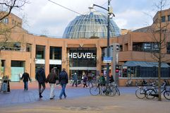 Entry of the heuvel gallery in Eindhoven Royalty Free Stock Photography