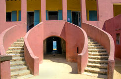 Entry-House of slaves-Goree Stock Image