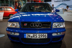 Entry-level luxury car Audi RS 2 Avant, 1995. Royalty Free Stock Photo