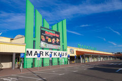 Entry of a Marktkauf discounter Stock Images