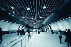 Entry of a  metro station Stock Image
