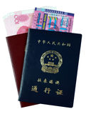 Entry Permit to Hong Kong and Macau Royalty Free Stock Photo