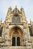 Petit Sablon church in Brussels. Entry in Petit Sablon church in Brussels, Belgium Stock Images