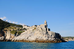 Entry in Portovenere harbor Royalty Free Stock Photo