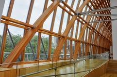 Entry ramp and interior facade of Galleria Italia Royalty Free Stock Image