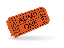 Entry ticket Stock Images