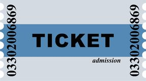 Entry Ticket Royalty Free Stock Image