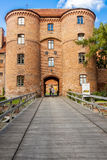Entry to fortification in Frombork. Royalty Free Stock Photo