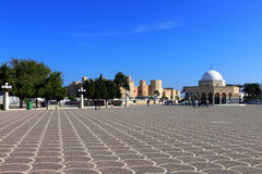 Entry to the Habib Bourguiba Mausoleum Stock Photo