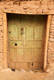 Entry to kasbah Stock Photography