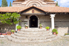 Entry to old church - Ohrid Royalty Free Stock Images