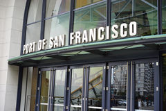 Entry to Port of San Francisco Stock Photos