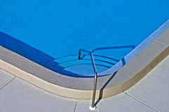 Entry to a Swimming Pool Royalty Free Stock Image